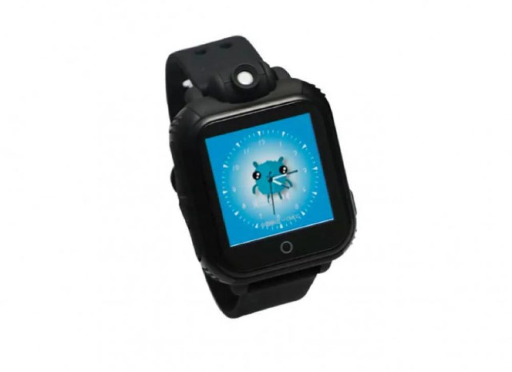 Cámara Reloj Smartwatch Gps Pantalla Wifi Touch Lbs Niños Negro OPXuZikT