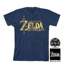 Playera para Hombre Bioworld Super Nintendo Zelda G Azul 157a3ef137b47
