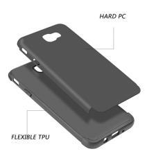 f0b93d3ee30 1. 2. 3. Funda Para Samsung Galaxy J5 Prime Doble Protector Para Uso Rudo  Crash Guard Luxmo Negro